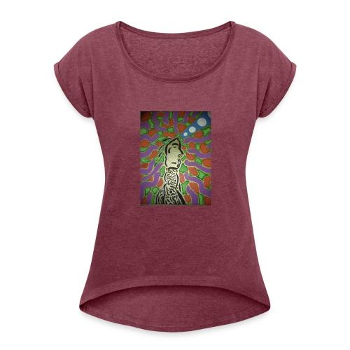 ³rd sight - Women's Roll Cuff T-Shirt