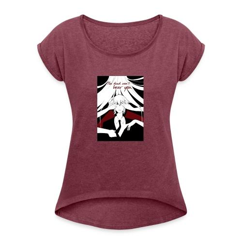 t-shirtdraft - Women's Roll Cuff T-Shirt