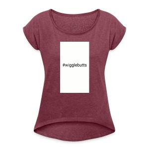 sketch 1520651246788 - Women's Roll Cuff T-Shirt