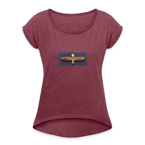 Ancient Egypt - Women's Roll Cuff T-Shirt