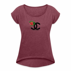 CUTE And CUDDLE MOMMY AND ME BUNDLE - Women's Roll Cuff T-Shirt