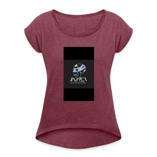 SugarSkull - Women's Roll Cuff T-Shirt
