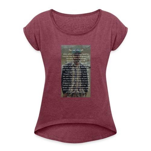 Online Store - Women's Roll Cuff T-Shirt