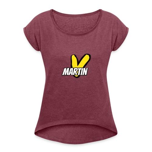 Martin V - Women's Roll Cuff T-Shirt