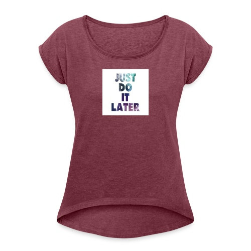 Merch - Women's Roll Cuff T-Shirt