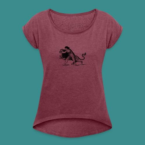 Fighter - Women's Roll Cuff T-Shirt