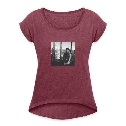 Eli Sway Goals merchandise - Women's Roll Cuff T-Shirt