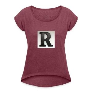 UPrun - T-shirt Femme à manches retournées