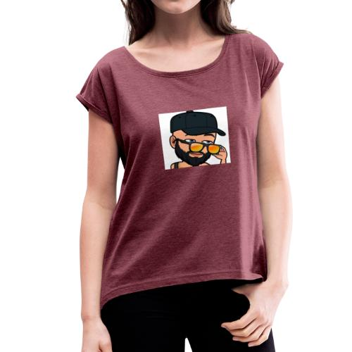 Eyooo😏 - Women's Roll Cuff T-Shirt