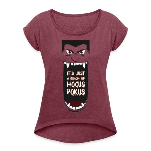 Hocus Pocus - Women's Roll Cuff T-Shirt