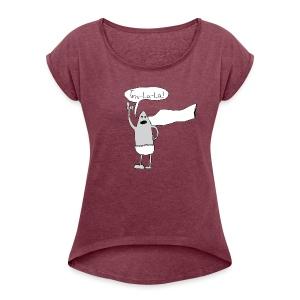 Captain Underpants - Women's Roll Cuff T-Shirt