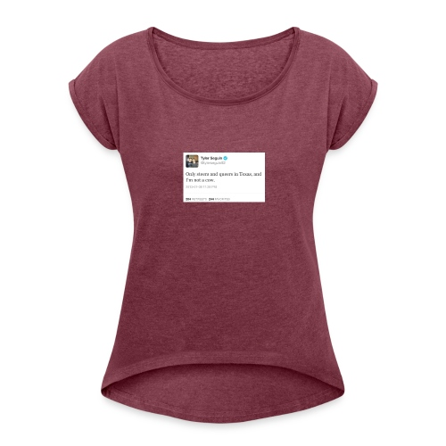 Steers and Queers - Women's Roll Cuff T-Shirt