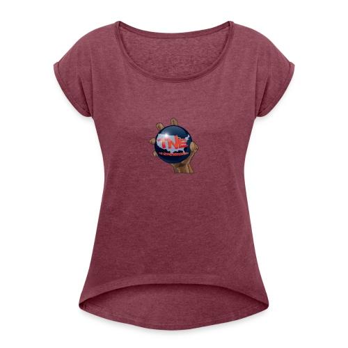 The Nations Entertainment Merch - Women's Roll Cuff T-Shirt