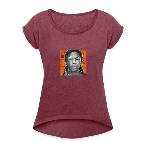 NEW DC4 - Women's Roll Cuff T-Shirt