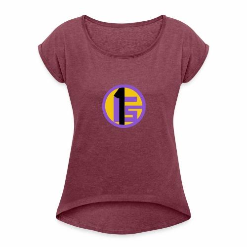 Gabsport1 Logo - Women's Roll Cuff T-Shirt