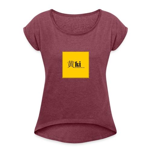 Ki - Women's Roll Cuff T-Shirt