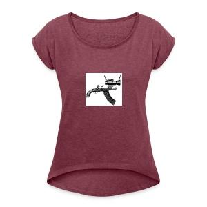 Ugly Gun - Women's Roll Cuff T-Shirt