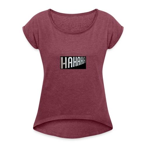 mecrh - Women's Roll Cuff T-Shirt