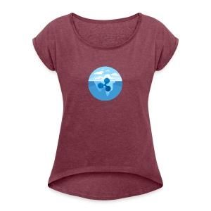 0AD877E5 1224 4CC0 96C5 8F1651B985CB - Women's Roll Cuff T-Shirt