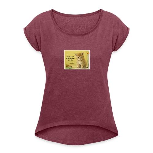 Frase - Women's Roll Cuff T-Shirt