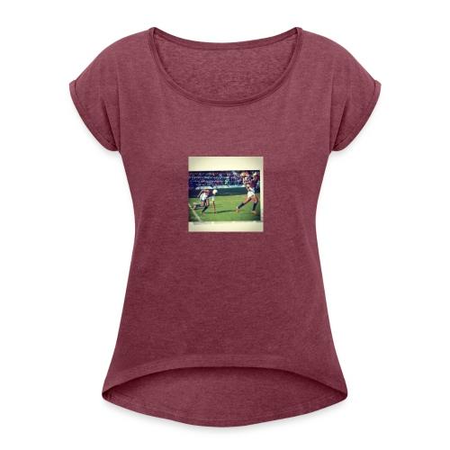 Memories - Women's Roll Cuff T-Shirt