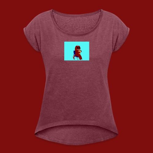 Sandwich Time! - Women's Roll Cuff T-Shirt