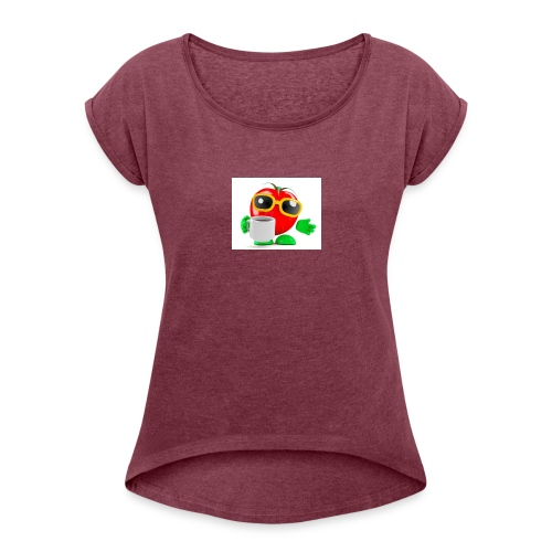 Coffee Mates - Women's Roll Cuff T-Shirt