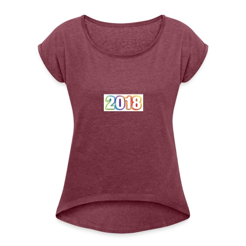 People need to wear warm and comfortable clothes. - Women's Roll Cuff T-Shirt