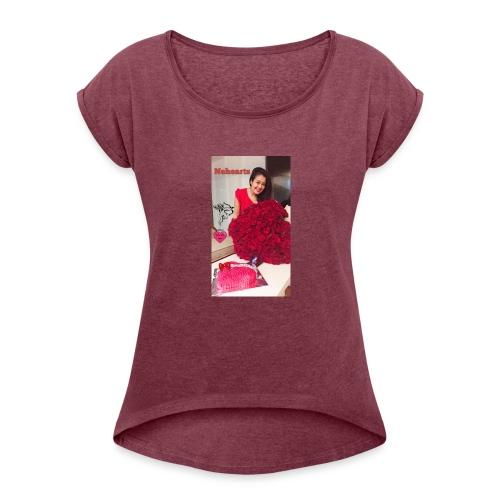 Nehearts - Women's Roll Cuff T-Shirt