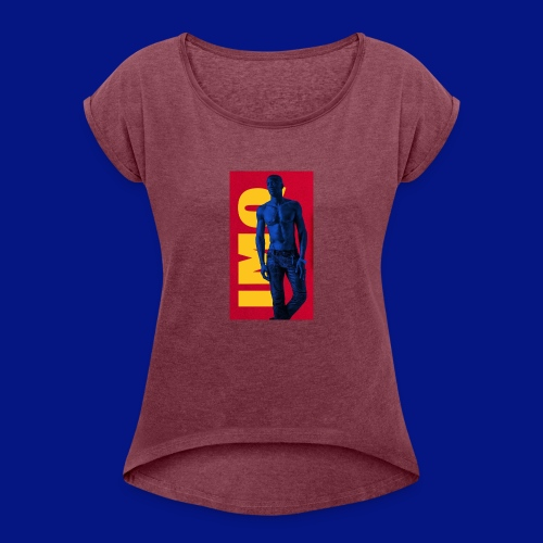 Image1 - Women's Roll Cuff T-Shirt