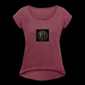 CAESAR GOLD1 - Women's Roll Cuff T-Shirt