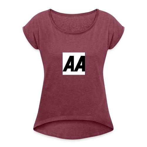 A.A - Women's Roll Cuff T-Shirt