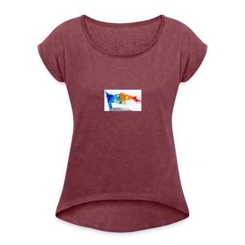 ic-7497 - Women's Roll Cuff T-Shirt