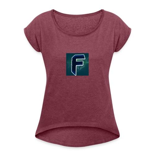 My New Logo Shirt - Women's Roll Cuff T-Shirt