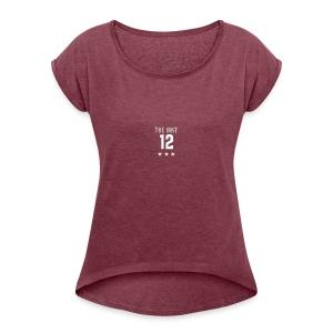 MKT sports logo - Women's Roll Cuff T-Shirt