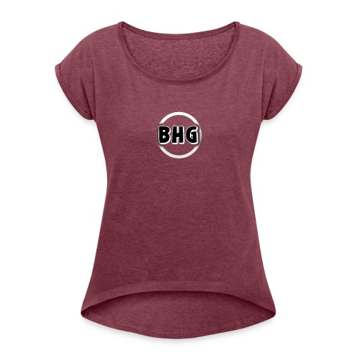 BlackHatGaming - Women's Roll Cuff T-Shirt
