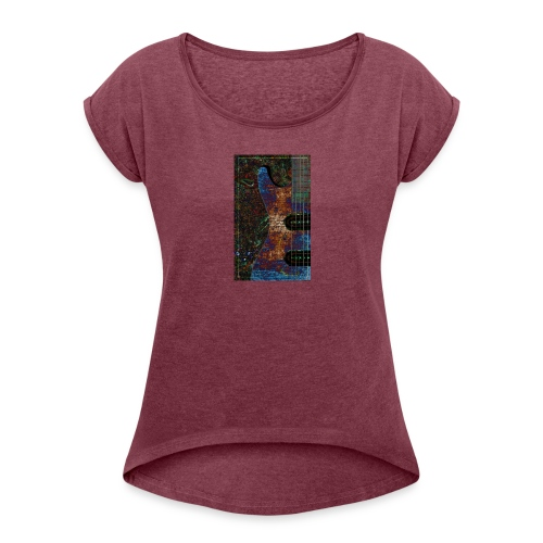 Music tshirt - Women's Roll Cuff T-Shirt