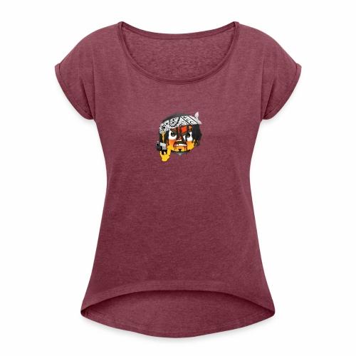 jj 004 - Women's Roll Cuff T-Shirt