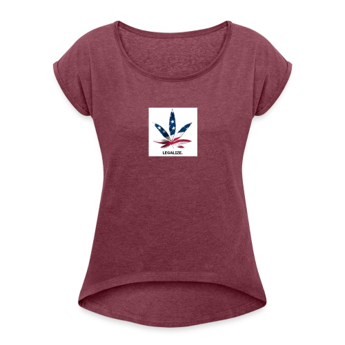 Screenshot_2016-11-28-11-59-03-1 - Women's Roll Cuff T-Shirt