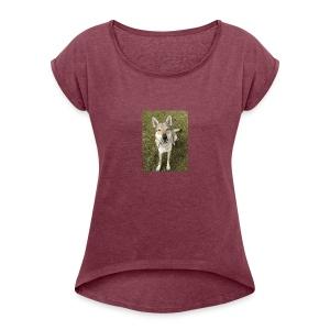 Test-Spike-JPG - Women's Roll Cuff T-Shirt