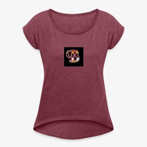 Original Bershics Logo Apparel - Women's Roll Cuff T-Shirt