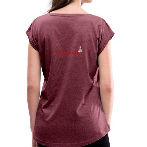 Design Small - Women's Roll Cuff T-Shirt