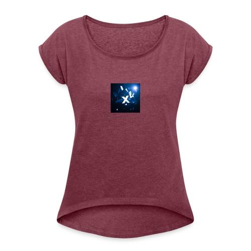 New Logo - Women's Roll Cuff T-Shirt