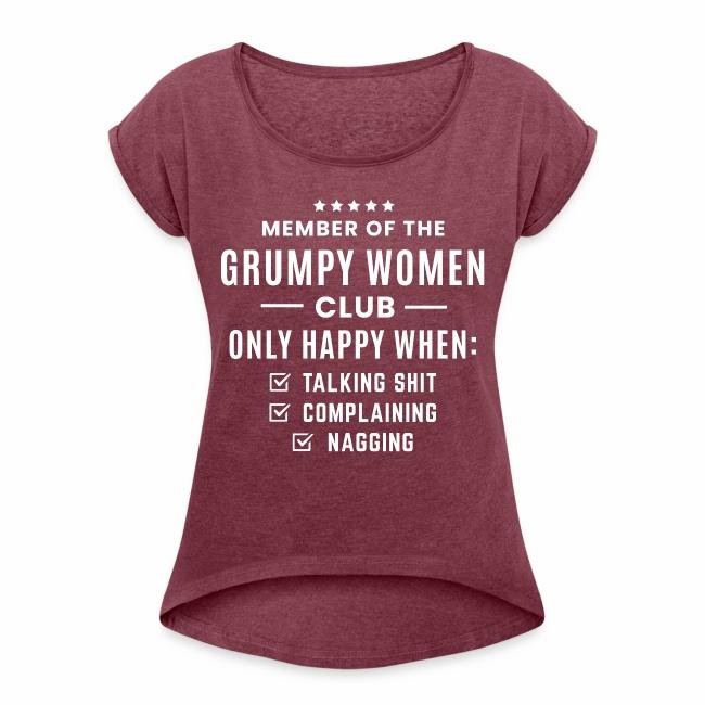 Grumpy women