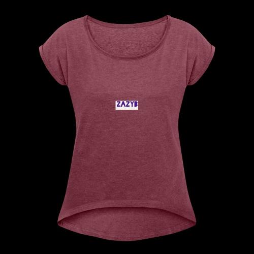 B197A22A 0C05 4255 BC68 B3979635A98C - Women's Roll Cuff T-Shirt
