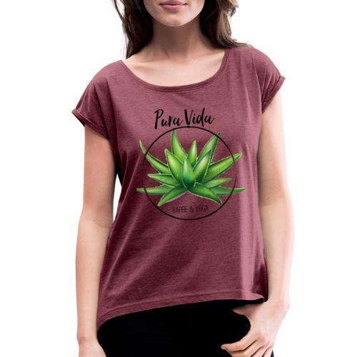 Pura Vida - Women's Roll Cuff T-Shirt