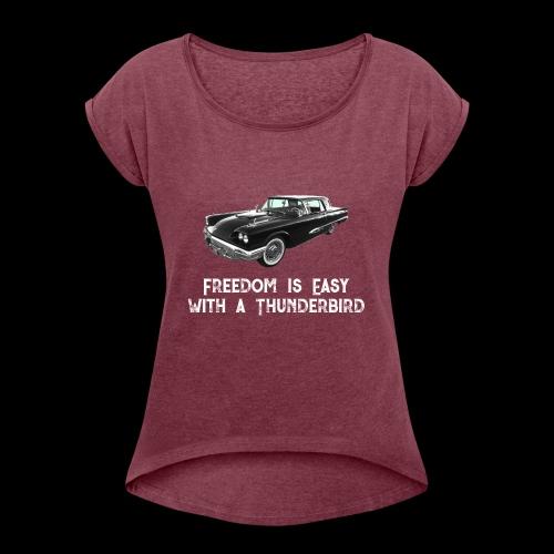 Thunderbird - Women's Roll Cuff T-Shirt