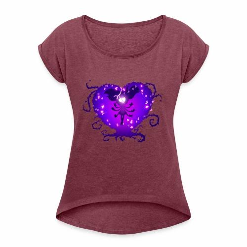 Mewberty - Women's Roll Cuff T-Shirt