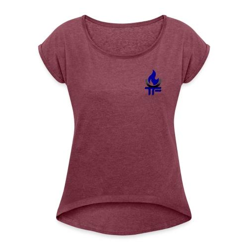 Triumph Goblet - Women's Roll Cuff T-Shirt