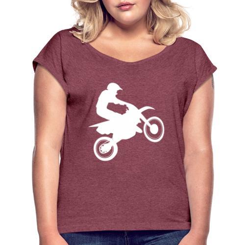 Motocross - Women's Roll Cuff T-Shirt